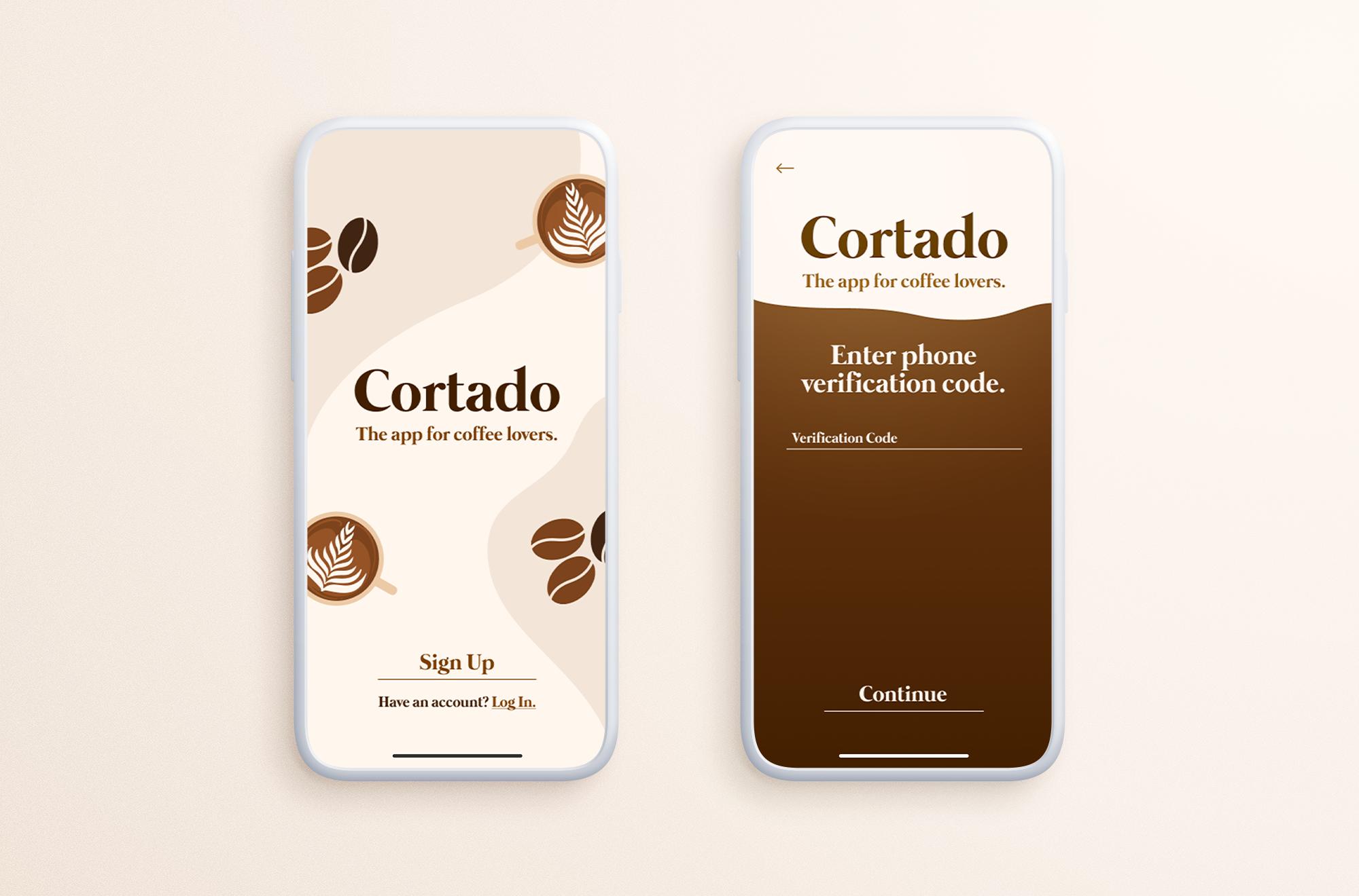 Cortado App Preview Image