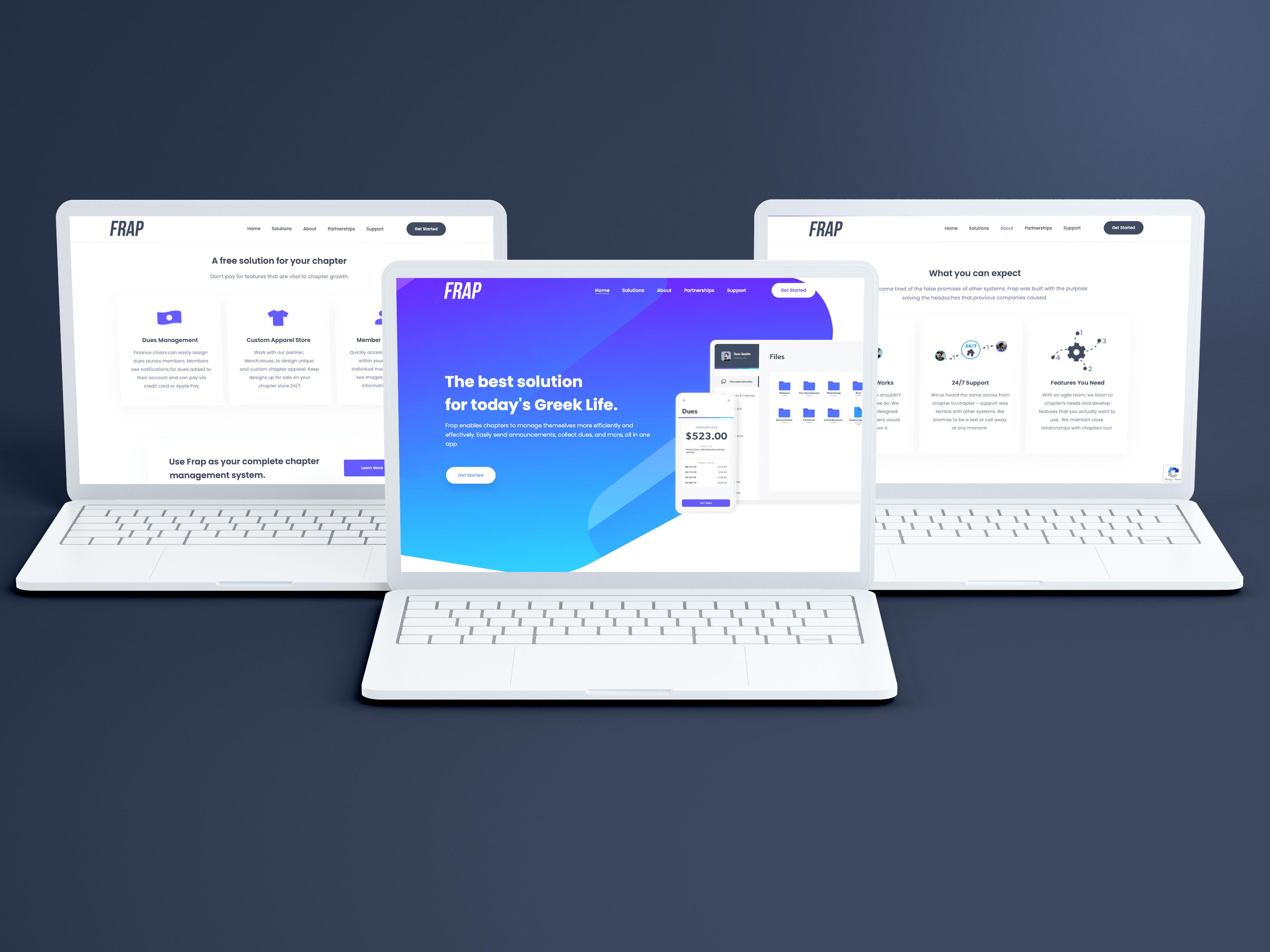 Frap App Preview Image